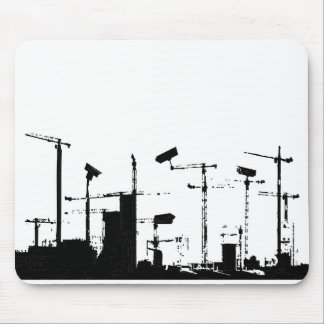 Surveiilance world mouse pad