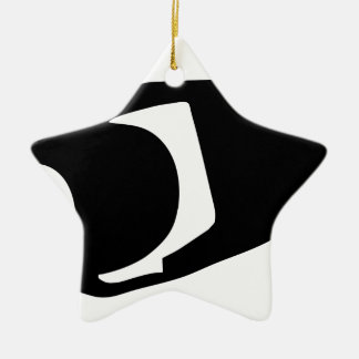 Surveillance Camera Ceramic Ornament