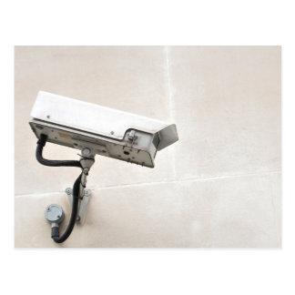 Surveillance camera postcard