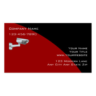 Surveillance Security Business Cards
