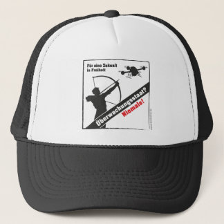 Surveillance state - no thanks! trucker hat