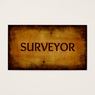 Surveyor Business Card