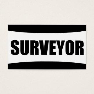 Surveyor Business Card