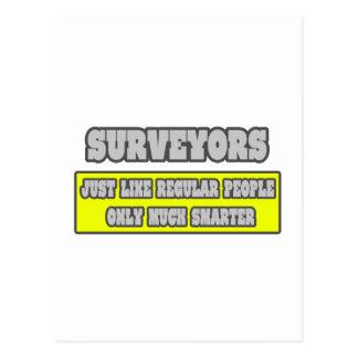Surveyors...Much Smarter Postcard