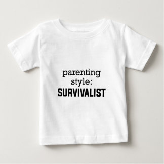Survivalist Parenting Baby T-Shirt