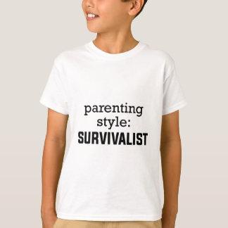 Survivalist Parenting T-Shirt