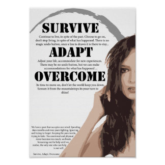 Survive Adapt Overcome Poster