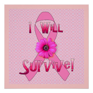 Survive Breast Cancer Poster