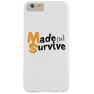 Survive Multiple Sclerosis Awarness Barely There iPhone 6 Plus Case