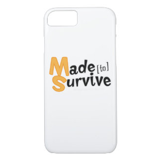 Survive Multiple Sclerosis Awarness iPhone 8/7 Case