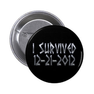 Survived 2012 button