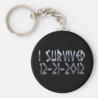 Survived 2012 key ring