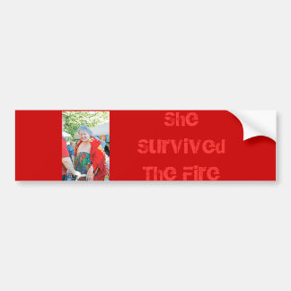 Survived Bumper Sticker