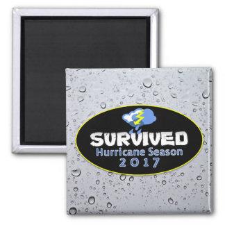 Survived hurricane season 2017 magnet