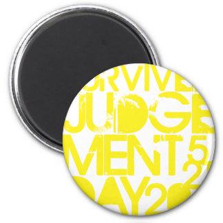 Survived Judgement Day 2011 Magnets