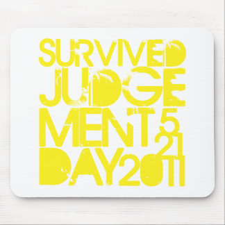 Survived Judgement Day 2011 Mouse Pad