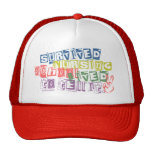 Survived Nursing School - Lived to Tell it Trucker Hats