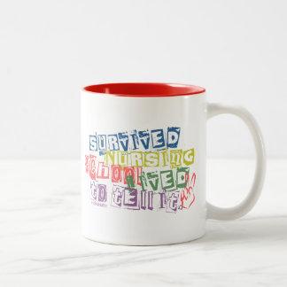 Survived Nursing School - Lived to Tell it Coffee Mug