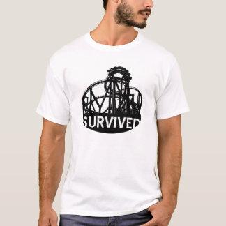 Survived (Roller Coaster) T-Shirt
