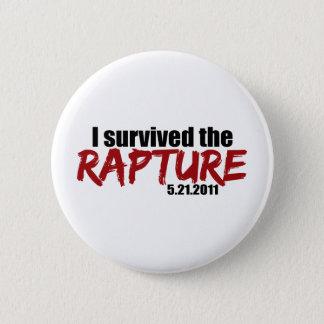 Survived the Rapture 6 Cm Round Badge