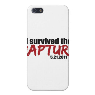 Survived the Rapture Cover For iPhone 5
