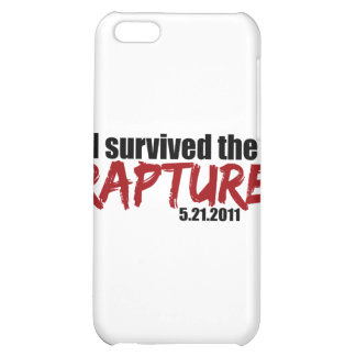 Survived the Rapture iPhone 5C Cover