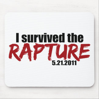 Survived the Rapture Mousepads