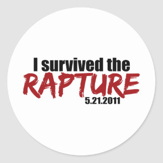 Survived the Rapture Stickers