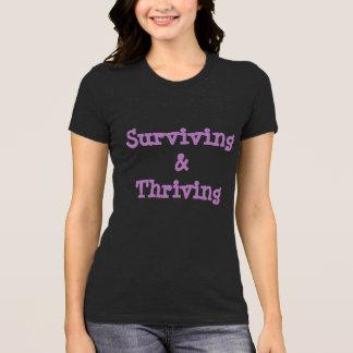 Surviving &a Thriving Bella Shirt