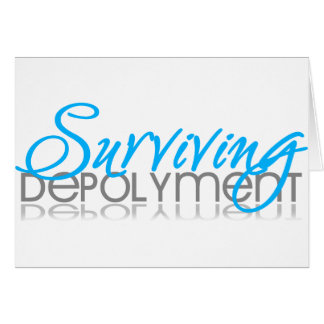 Surviving Deployment Card