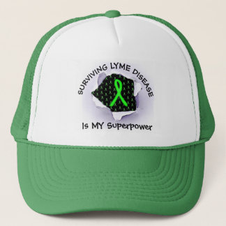 Surviving Lyme Disease Superpower Baseball Cap
