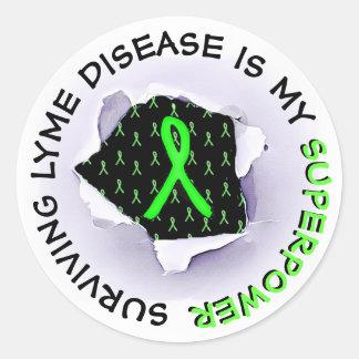 Surviving Lyme Disease Superpower STICKERS