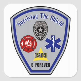 Surviving the Shield sticker