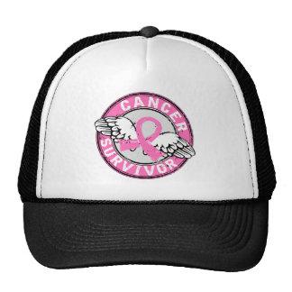 Survivor 14 Breast Cancer Mesh Hat