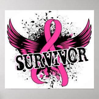 Survivor 16 Breast Cancer Print