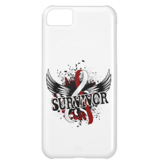 Survivor 16 Head and Neck Cancer Cover For iPhone 5C