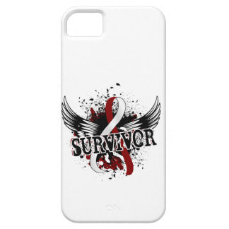 Survivor 16 Head and Neck Cancer iPhone 5 Cases