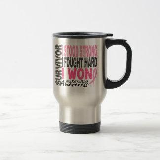 Survivor 4 Breast Cancer Mug