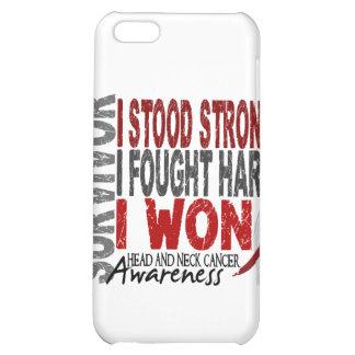 Survivor 4 Head Neck Cancer iPhone 5C Case