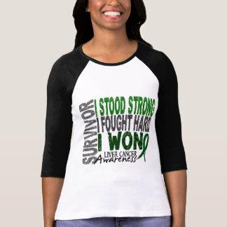 Survivor 4 Liver Cancer T-Shirt