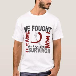 Survivor 5 Head Neck Cancer T-Shirt