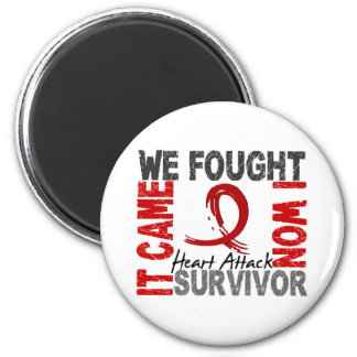 Survivor 5 Heart Attack Magnet