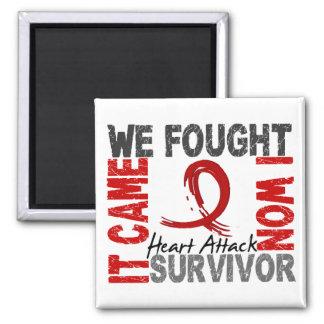 Survivor 5 Heart Attack Refrigerator Magnets