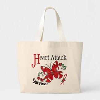 Survivor 6 Heart Attack Tote Bag