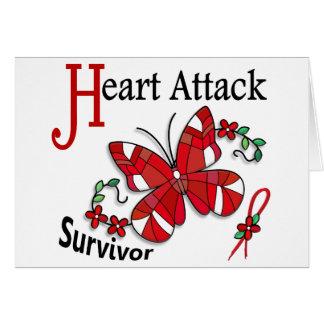 Survivor 6 Heart Attack Greeting Cards