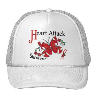 Survivor 6 Heart Attack Trucker Hats