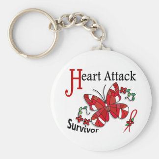 Survivor 6 Heart Attack Key Chains