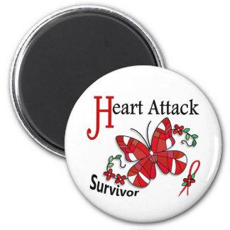 Survivor 6 Heart Attack Fridge Magnet