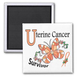 Survivor 6 Uterine Cancer Magnet