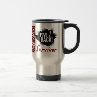 Survivor 7 Head Neck Cancer Stainless Steel Travel Mug